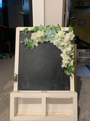 Chalk board sign for Sale in MERRIONETT PK, IL
