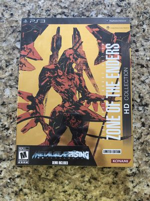 FS: Zone of the Enders HD Collection Limited Edition PS3 (new, Sealed) for Sale in Austin, TX