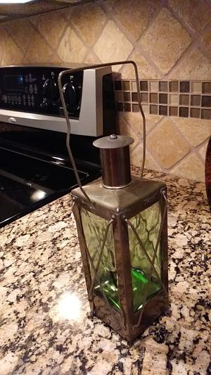 Vintage /Rustic green glass decanter.. for Sale in Lake Worth, FL