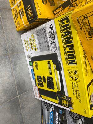 Champion 2000 watts generator for Sale in Valrico, FL