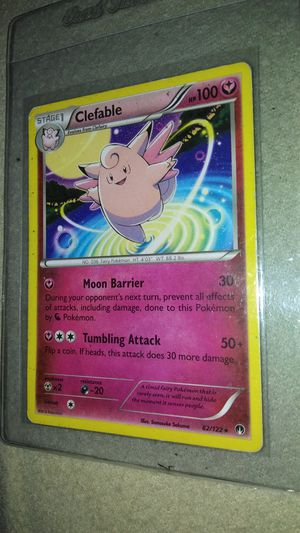 Clefable 82 / 122 Pokemon card for Sale in Garland, TX