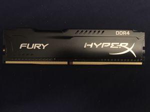 HyperX Fury DDR4 2400 8GB (1x8g) ram for Sale in Anaheim, CA