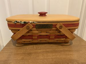 Longaberger Holiday Cheer Basket for Sale in Akron, OH