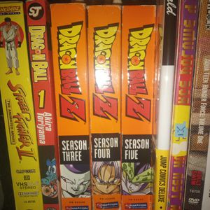 DragonBall Z Dvd Set (Season 3,4,5) for Sale in Lansdowne, PA