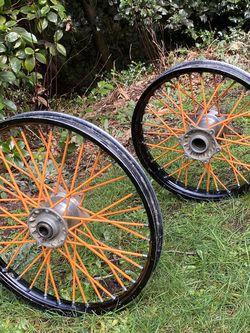 Excel Dirt bike Wheels for Sale in Poulsbo,  WA