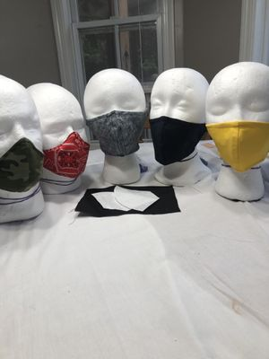 5 pack masks with 2 filters each for Sale in Villa Rica, GA