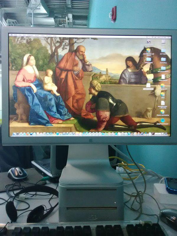 Mac mini G4 homeschool computer