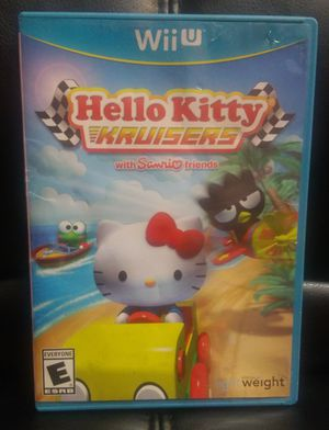Nintendo Wii U Hello Kitty Kruisers With Sanrio Friends Game for Sale in Modesto, CA