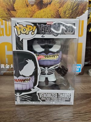 Japanese anime Marvel pop figure toy venomized thanos venom series number 510 for Sale in Alhambra, CA