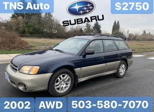 2002 Subaru Outback AWD for Sale in Salem, OR