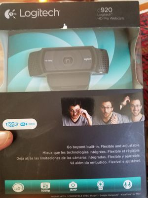 Logitech c920 camera for Sale in Alexandria, VA