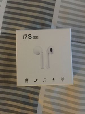 I7S wireless Bluetooth headphones for Sale in Brockton, MA