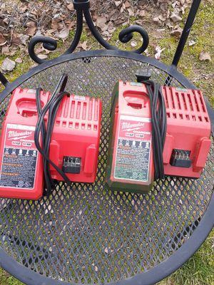 12v 18v wall charger Milwaukee used for Sale in Adelphi, MD