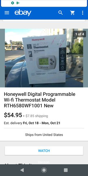 Honeywell Thermostat New for Sale in Winfield, IL