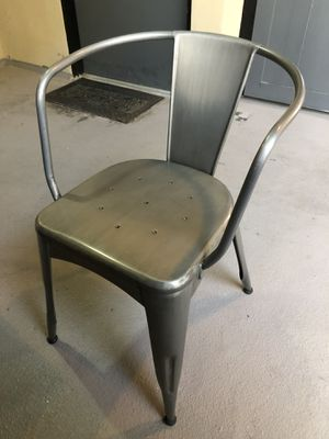 Chair - Brushed Metal - Like New Condition for Sale in Los Angeles, CA
