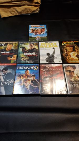 9 asst DVD movies for Sale in Palm Harbor, FL