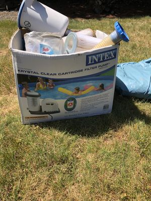 Pool Pump and Cover for Sale in Glenwood, OR