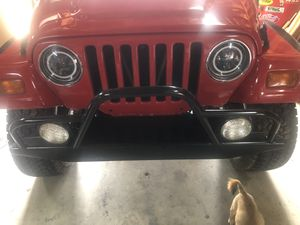 Jeep tj bumpers for Sale in Riverside, CA