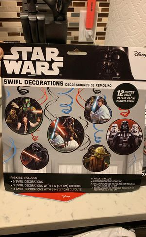 Star Wars party supplies for Sale in Los Angeles, CA