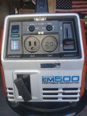 HONDA EM500 Portable generator for Sale in Sacramento, CA