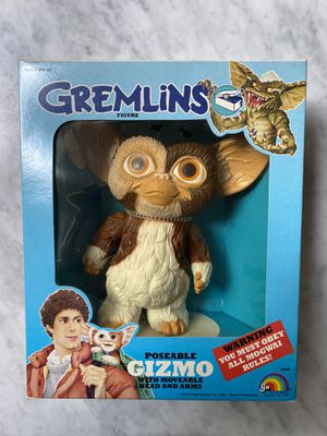 1984 VINTAGE GREMLINS GIZMO ACTION FIGURE MIB SEALED LJN TOY MISB for Sale in Renton, WA