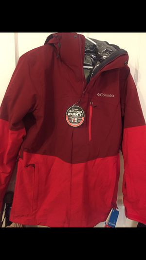 Men's waterproof/650 fill down interchange snow jacket size Small for Sale in Pico Rivera, CA