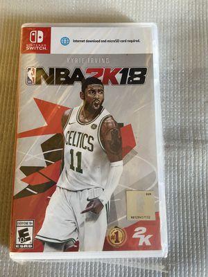 Nintendo Switch Game NBA2K18 -NEW for Sale in Santa Ana, CA