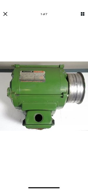 Reliance Duty Master AC Motor Type P Class B 5 HP Frame182T 3495 RPM #6B839 Ali1 R 3-26-20 for Sale in Irvine, CA