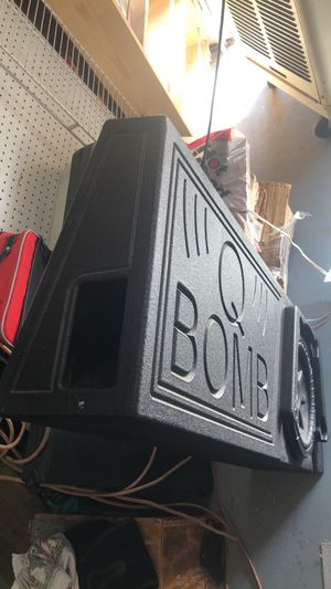 Q bomb sub box for Sale in Gold Canyon, AZ