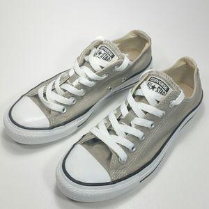 Converse flat top old silver trainers grey men sz 5 women's sz 7 for Sale in Dallas, TX