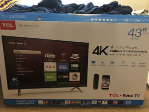 "43"" TCL HD ROKU TV for Sale in Minneapolis, MN"