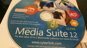CyberLink media suite 12 ultra. for Sale in Corinth, TX
