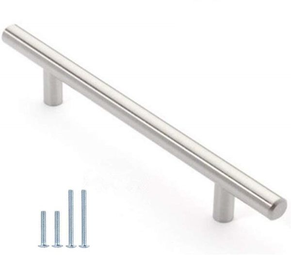 12mm Stainless Steel Kitchen Cabinet Handles T Bar Pull HOLLOW
