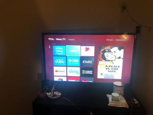 TCL ROKU SMART TV for Sale in Fairfax, VA