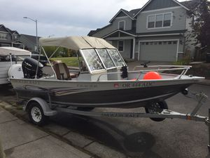 2007 Aluminum Smokercraft Tracer for Sale in Molalla, OR