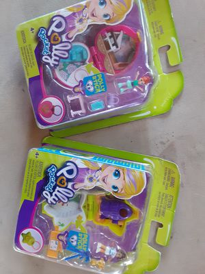 Polly pocket toys for Sale in San Bernardino, CA