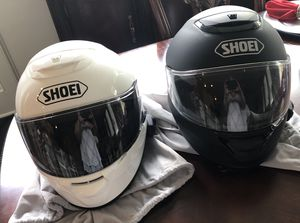 Two(2) Shoei Quest Helmets with Sena Bluetooth for Sale in Chapel Hill, NC