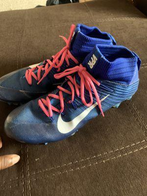 Nike vapor untouchable 2 cleats size 10 for Sale in El Paso, TX