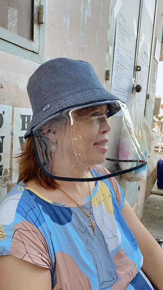Anti-Spitting Protective Hat - Safety Face Shield Hat