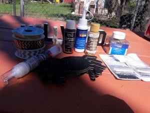 Black,Gold, and Glitter Craft supplies for Sale in Denver, CO