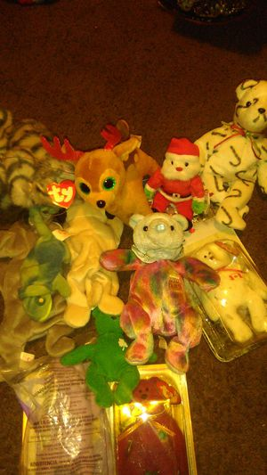 Beanie baby 11 of the original ones for Sale in Stockton, CA