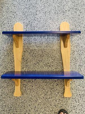 Shelves Wall baseball bat shelves (2) for Sale in Riverside, CA