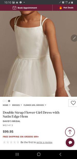 Davids bridal flower girl dresses for Sale in Greer, SC