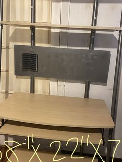 Computer Desk with Matching Book Shelf for Sale in Puyallup, WA
