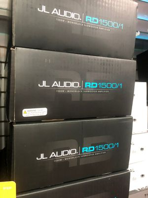 JL Audio Rd 1500 / 1 amplifier on sale today please message me for more details and pricing for Sale in Lawndale, CA