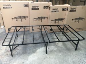 14 inch Twin Metal Bed Frame, Black for Sale in Garden Grove, CA