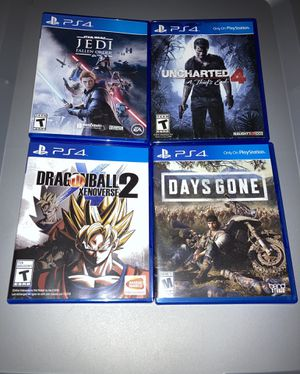 Ps4 games for Sale in Imperial Beach, CA