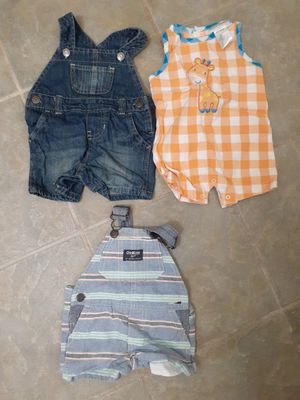 Baby boy clothes 0-3month for Sale in San Bernardino, CA
