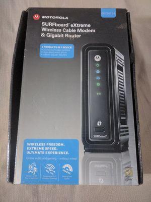 Motorola Comcast modem for Sale in Modesto, CA