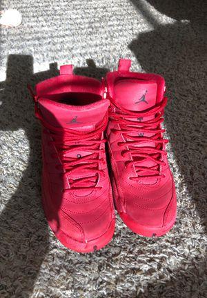 Gym Red Jordan Retro 12 for Sale in Brick Township, NJ
